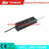 PWM 기능 (HTL Serires)를 가진 24V150W 알루미늄 방수 LED 운전사