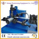 Tubo espiral acanalado de la tensión del poste que forma la máquina para las vigas prefabricadas