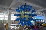 Раздувной воздушный шар украшения потолка, раздувной шарик освещения с рожочками C2024