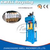 Prensa hidráulica vertical manual de matéria têxtil