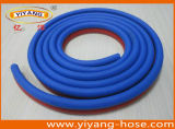 Línea gemela manguito de la soldadura/abrasión soldada de PVC&Rubber del tubo (ligero, bueno)