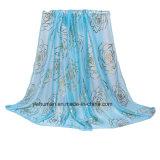 Signora Fashion delle sciarpe della protezione solare del jacquard della sciarpa delle sciarpe 2017 sottili della sezione nuova