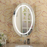 غرفة حمّام خلفيّ [ليت] [لد] يشعل مرحاض [فرملسّ] جدار مرآة
