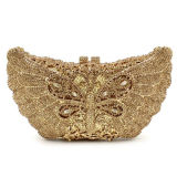 Sacos de noite high-end Pure Handmake Butterfly Crystal Stone & Rhinestone Bags Leb741