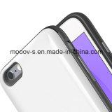 Cassa di batteria portatile bianca di Mooov senza mento inferiore per il iPhone 6 Plus/6s più