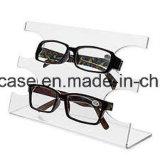 명확한 아크릴 3 층 안경알 색안경 유리 진열대