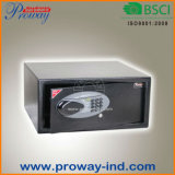 High Security Swiping Credit Card Hotel Safe with DIGITAL Electronic Lock and LCD Display, Laptop Size