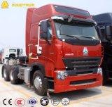 Cabeça do trator de Sinotruk HOWO A7 420HP 6X4, caminhão de reboque