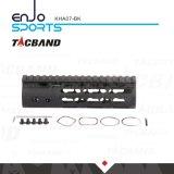 De Super Slanke Vrije Vlotter Keymod van Tacband 7 Zwarte van het Spoor van het Spoor W/Picatinny van Handguard van de Duim de Hoogste