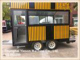 Reboque móvel da cozinha de Restauração Van Restauração Caminhão da tenda do hamburguer Ys-Ho350