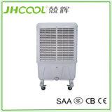 Projeto portátil evaporativo do refrigerador de ar com as 3 almofadas Cooing