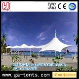 tente de la plage 100km/H pour l'épreuve de l'eau d'épreuve de Sun de tente d'ombrage d'horizontal de côté de mer