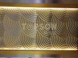 L'acier inoxydable d'or titanique de Topson examine la partition de diviseurs de pièce pour la décoration intérieure