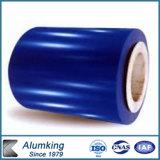 上塗を施してある亜鉛アルミニウム鋼板のGalvalumeの鋼鉄コイルを着色しなさい