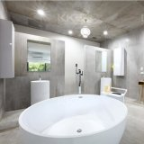 Ванна санитарных изделий ванной комнаты круглая твердая поверхностная Freestanding