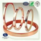 Argent large de bande en métal et bande composée de cuivre en métal