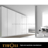 بيضاء طويلة رقيق خزانة ثوب خزانة غرفة نوم أثاث لازم [تيفو-0045هو]
