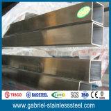 AISI 202 ha saldato il tubo del quadrato dell'acciaio inossidabile
