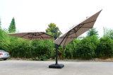 Двойные алюминиевые римские зонтики для напольной мебели (TGTA-001)