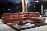 Sofá de vida da mobília de Roma do sofá de couro moderno ajustado (SBL-9108)