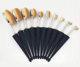 brosse de lecture de renivellement de forme du parapluie 10PCS de constructeur professionnel de produits de beauté
