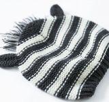 Sombrero caliente recién nacido hecho punto acrílico del bebé