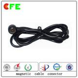 Varón de encargo 1pin y conectores de cable magnéticos femeninos
