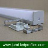 Manica di alluminio del LED per l'indicatore luminoso del nastro del LED