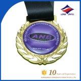 Medaille van de Sport van de Medaille Bodybuilding van het Metaal van de Levering van de fabriek de Gouden voor Herinnering