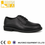 Cuir corrigé Office Shoes Police Mens