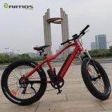 Fetter Gummireifen-Strand-Kreuzer-elektrisches Fahrrad