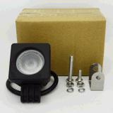 Lâmpada do trabalho do diodo emissor de luz da luz de condução 10W do diodo emissor de luz fora das luzes do trabalho da motocicleta do trator do diodo emissor de luz da luz 12V do trabalho da microplaqueta do CREE da estrada 10W