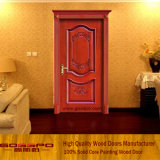 Single Interior Fancy Wood Carving Door (GSP2-062)