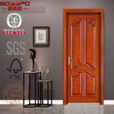 Tür in der Tür-Entwurfs-festes Teakholz-hölzernes Bauholz-Innentür (GSP2-042)