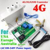 4G Verson GSM 자동 AC 두 배 릴레이 산출 GSM SMS 리모트 관제사