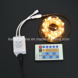 Cuivre télécommande Firefly riz Mini 0603 Chaîne Light Multi-couleurs RVB pour Holiday Décoration de Noël