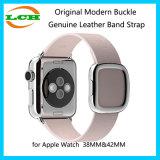 Appleの腕時計のための元の現代バックルの本革バンドストラップ