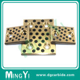 Barra lisa de bronze da precisão para o uso do molde