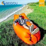 Hammock inflável de acampamento da cadeira de nylon portátil do saco do sono do ar