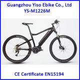 유럽 시장을%s Bafang 8fun 중앙 모터 36V 250W를 가진 산 작풍 전기 자전거
