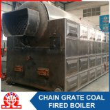 Chaudière à combustion de granulés de bois à grille à chaîne à biomasse