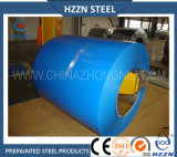 La couleur bleue a enduit la bobine en acier galvanisée