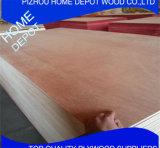 Madera contrachapada comercial del precio barato para los muebles