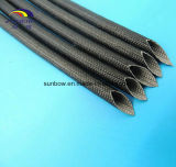 De gemiddelde Met een laag bedekte Glasvezel Sleeving 2753 van het Voltage 2500V van de Doorbraak Silicone