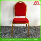 호텔 빨간색 회의실 가구를 겹쳐 쌓이기