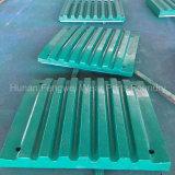 Hohe Mangan-Bergbau-Zerkleinerungsmaschine-Kippplatten-Abnützung-Teile