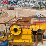 Triturador de maxila da pedra/rocha usado descontroladamente no setor mineiro