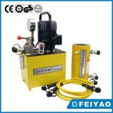 Crics hydrauliques à vendre le double cylindre hydraulique temporaire