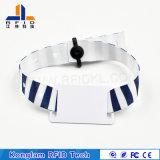 Wristband trenzado de seda de la pantalla RFID para la identificación del bebé