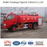 4.5ton Dongfengの真新しい普通消防車のスプリンクラーのトラックEuro3